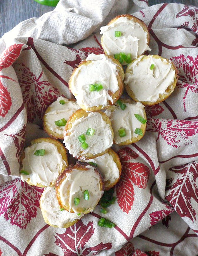 mini jalapeno cornbread cupcakes with honey butter frosting 6