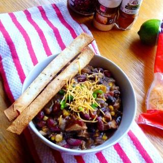 Pantry Raid: Mexican Chicken Chili
