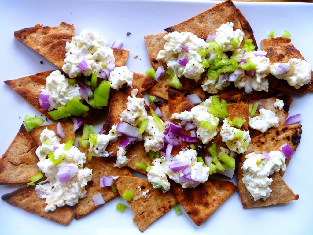 ... wanted nachos not any old nachos but crazy feta greek nachos what are