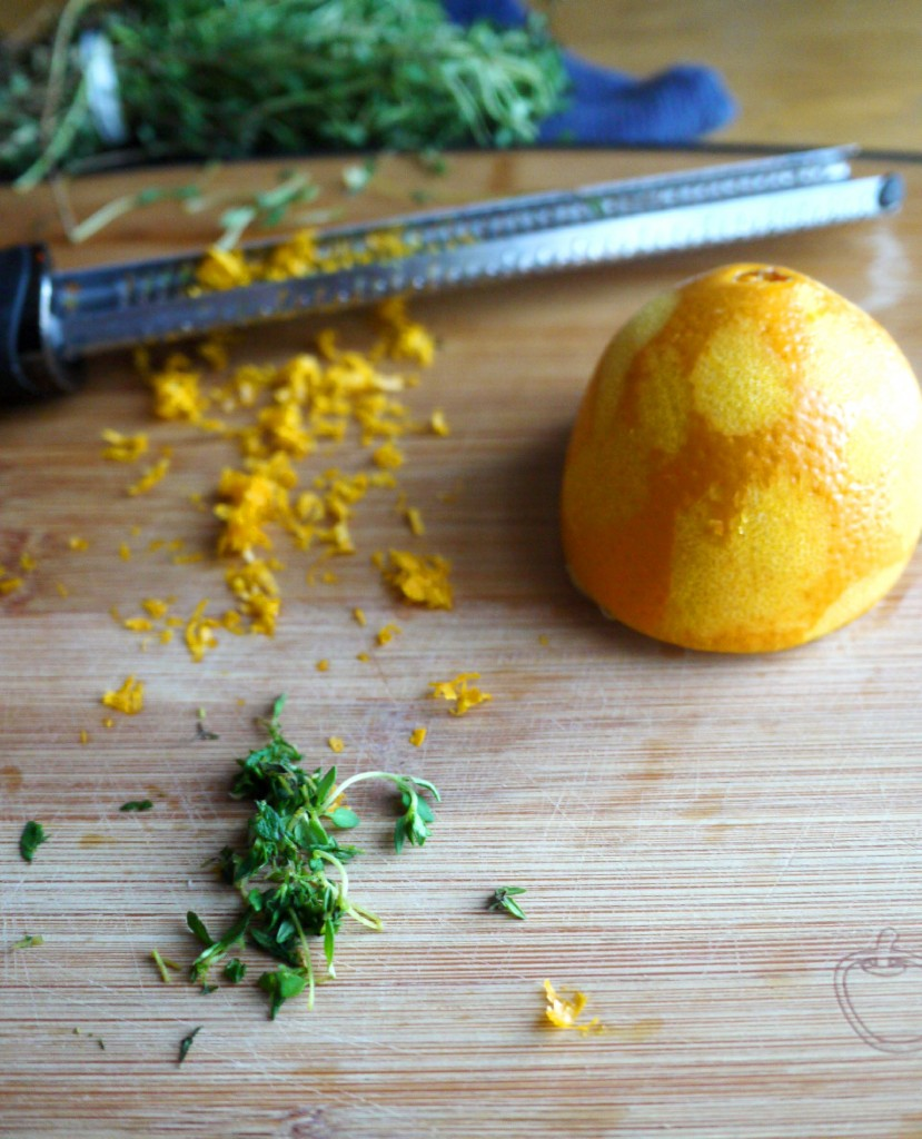 thyme and zest