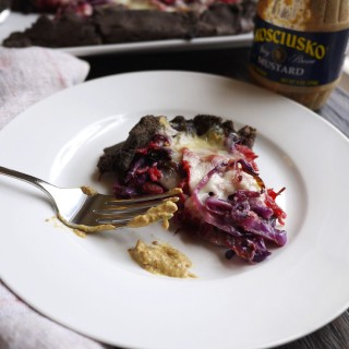 Corned Beef and Cabbage Buckwheat Crostata