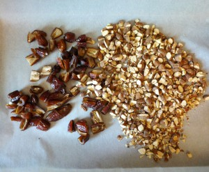 almonds and dates 1