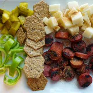 Memphis Makeover: Sausage and Cheese Plate