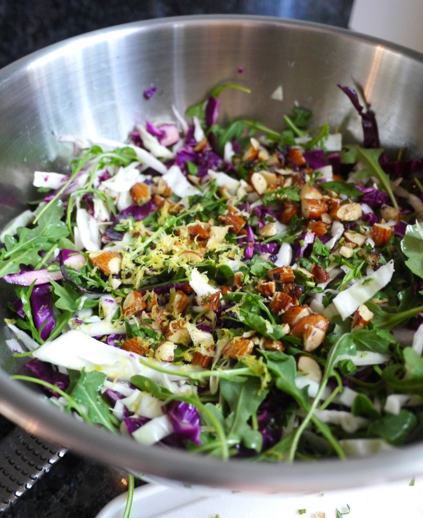 salad before mixing 2
