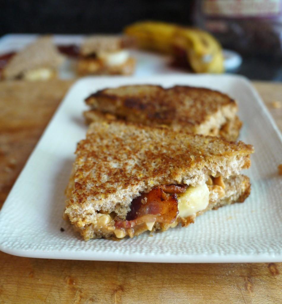 sandwich on platter 1