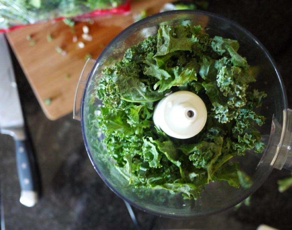 kale in processor