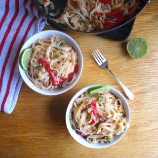 Fiery Drunken Noodles