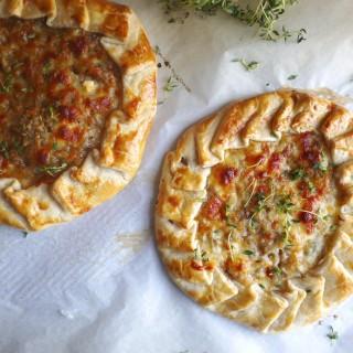 Best Caramelized Onion Tart Ever