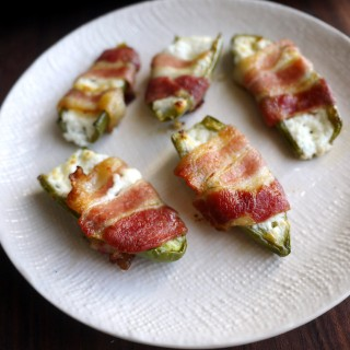 Spice Up Your Super Bowl Sunday: Goat Cheese-Stuffed, Bacon-Wrapped Jalapenos