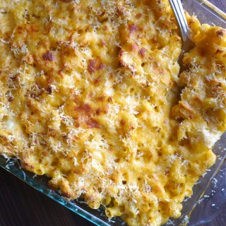 MY FIRST RECIPE FEATURE ON POPSUGAR FOOD! Mac 'n' Cheese Makeover: A Gluten-Free, Low-Lactose Version