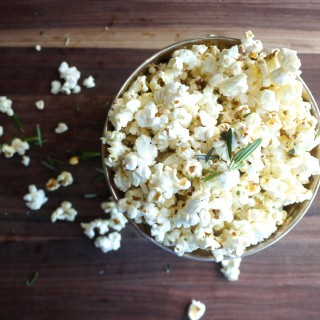 Anchovy and Rosemary Popcorn