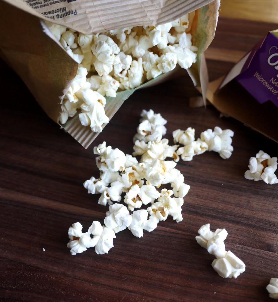 popcorn before