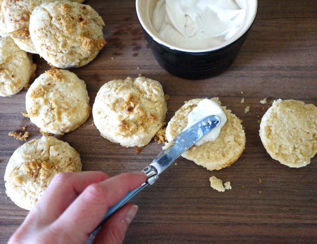 scones with cream 1