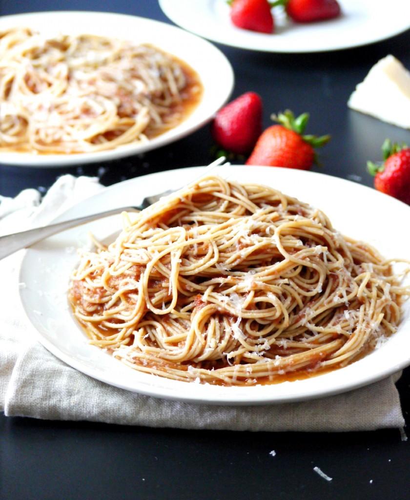 strawberry pasta 5