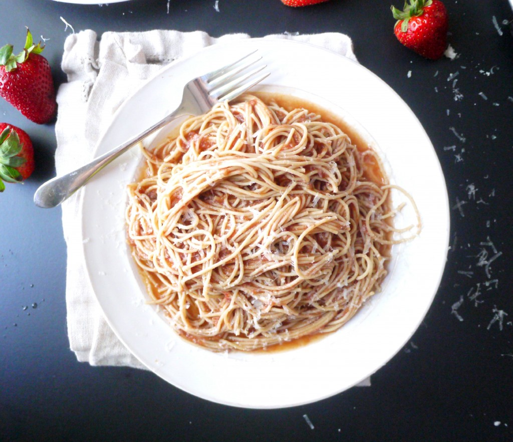 strawberry pasta 7