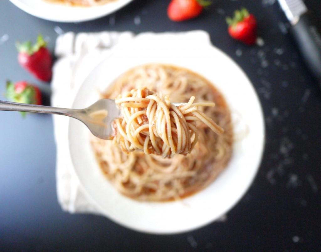 strawberry pasta 9