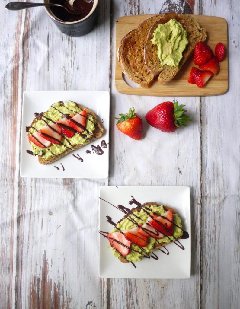 strawberry toast 9