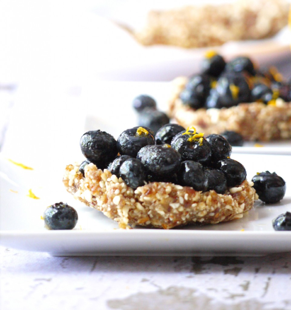 blueberry and almond tartlet 3