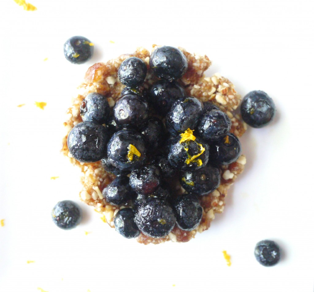 blueberry and almond tartlet 4