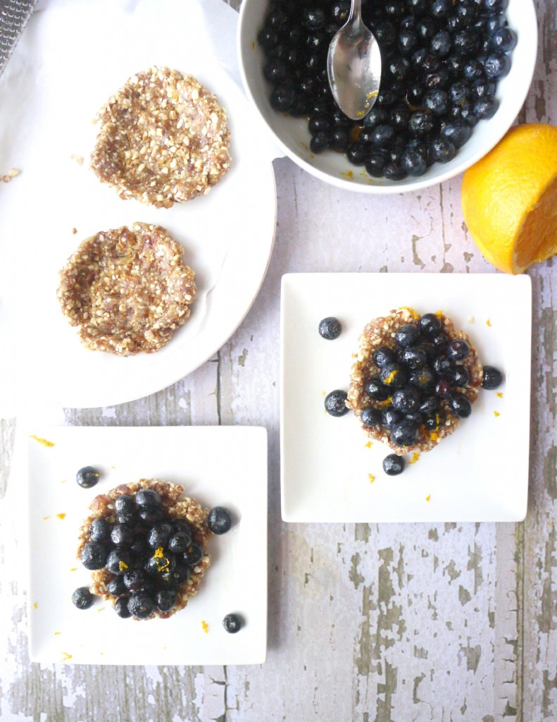 blueberry and almond tartlet 5