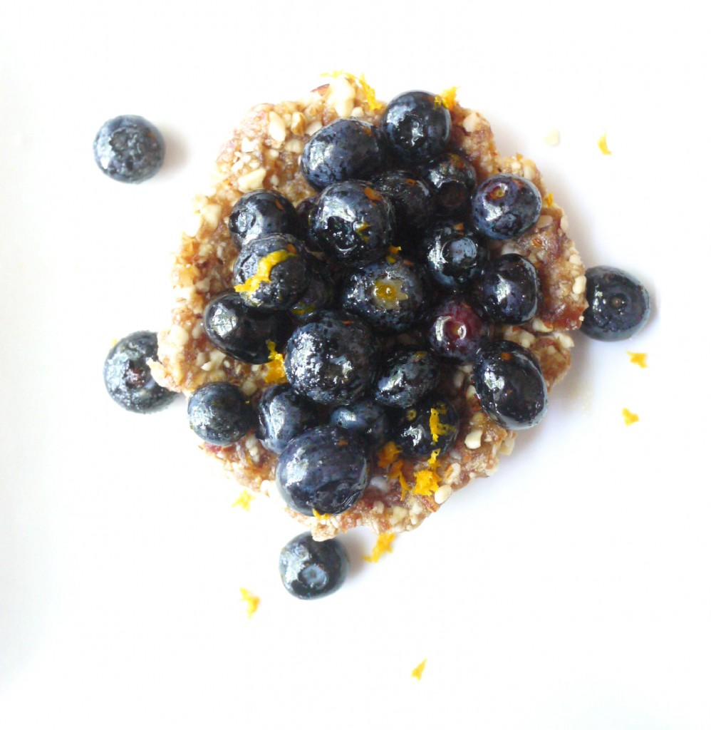 blueberry and almond tartlet 6