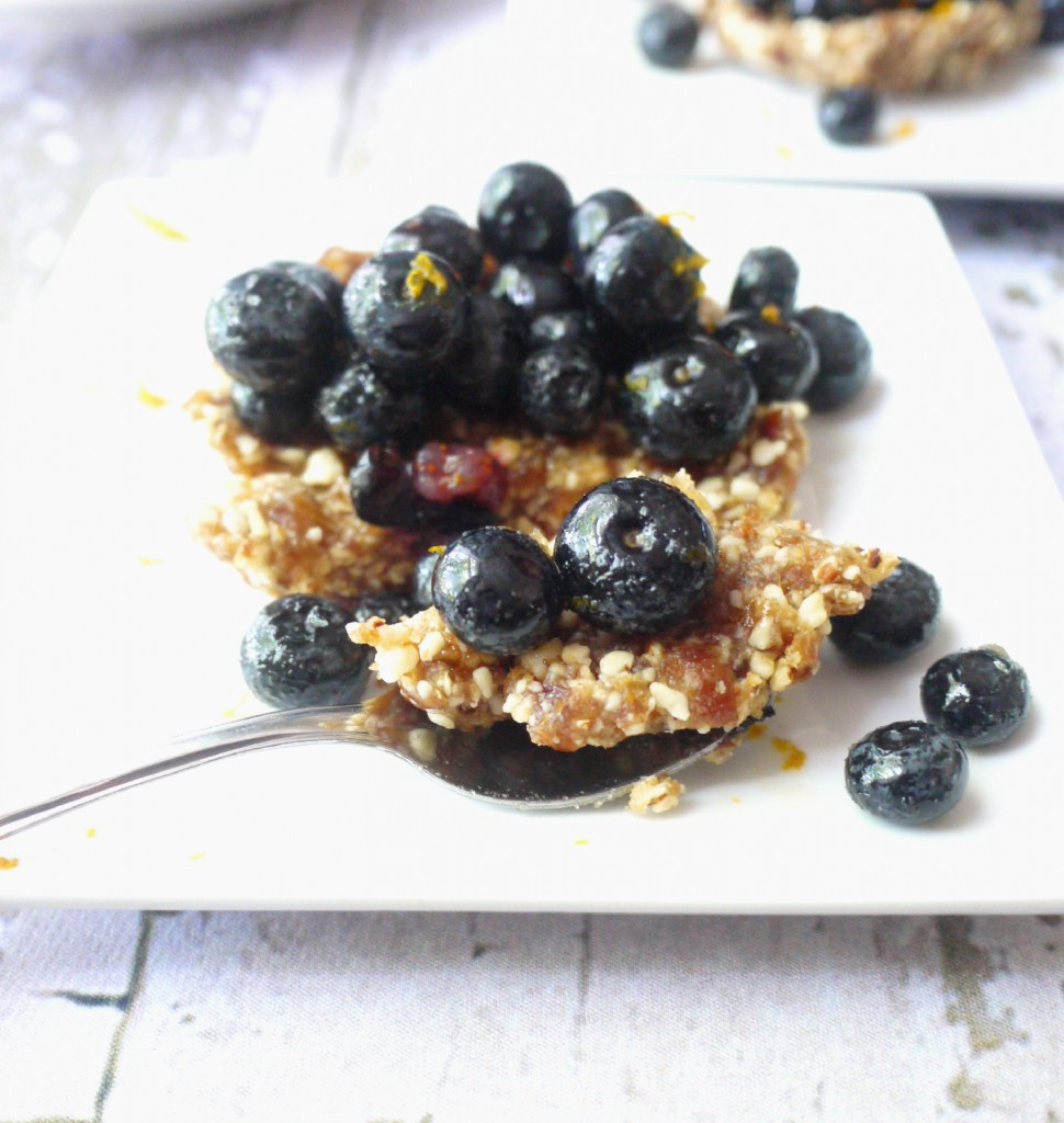 blueberry and almond tartlet 7