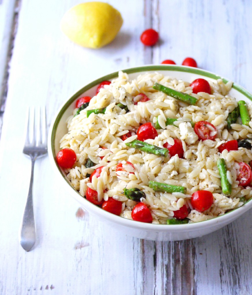 orzo salad with post image for orzo salad with i heart this salad ...