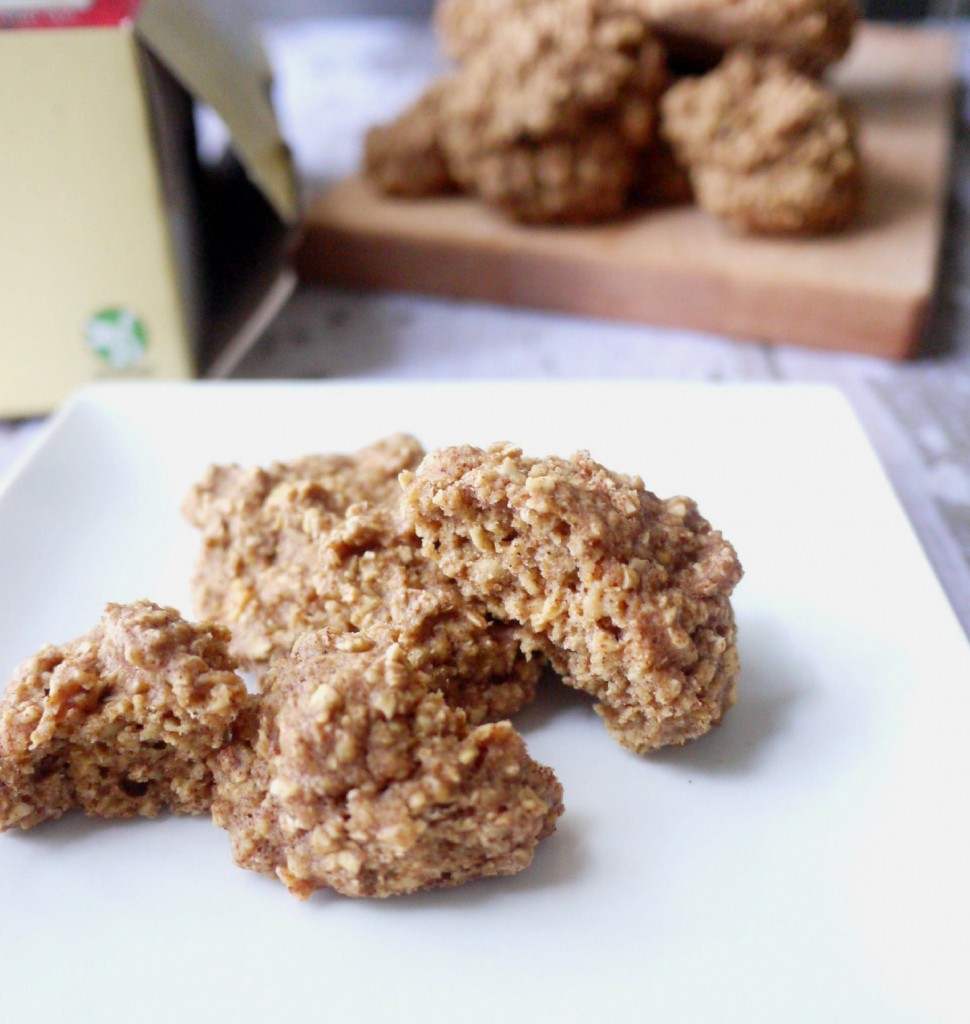 gluten free apple spice oatmeal cookies 3