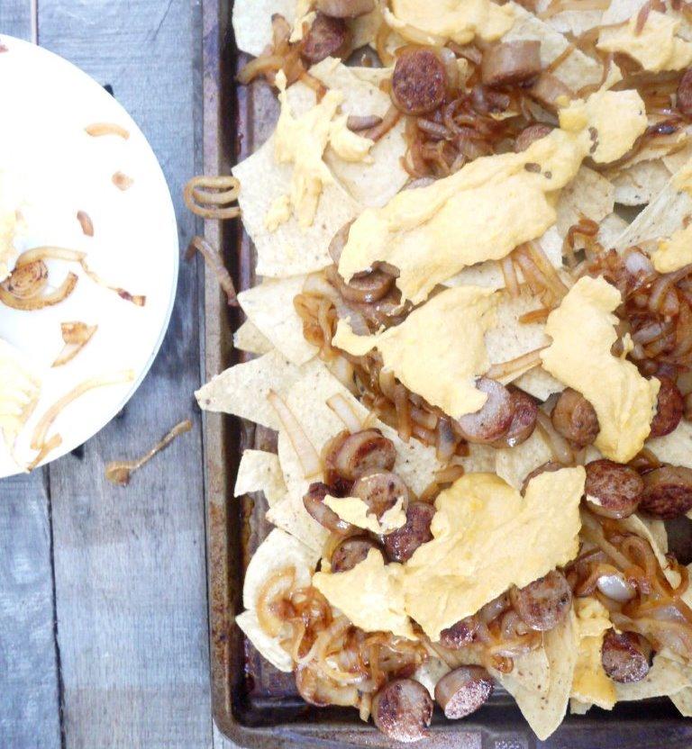 beer brat nachos 8