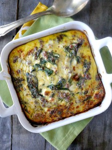 ... Feta Breakfast Casserole (AKA The Perfect Pregnancy Breakfast