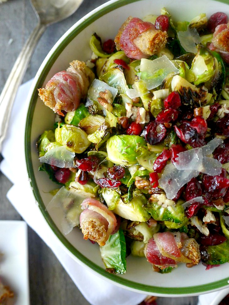 brussels sprouts salad with pancetta croutons 3 adjusted