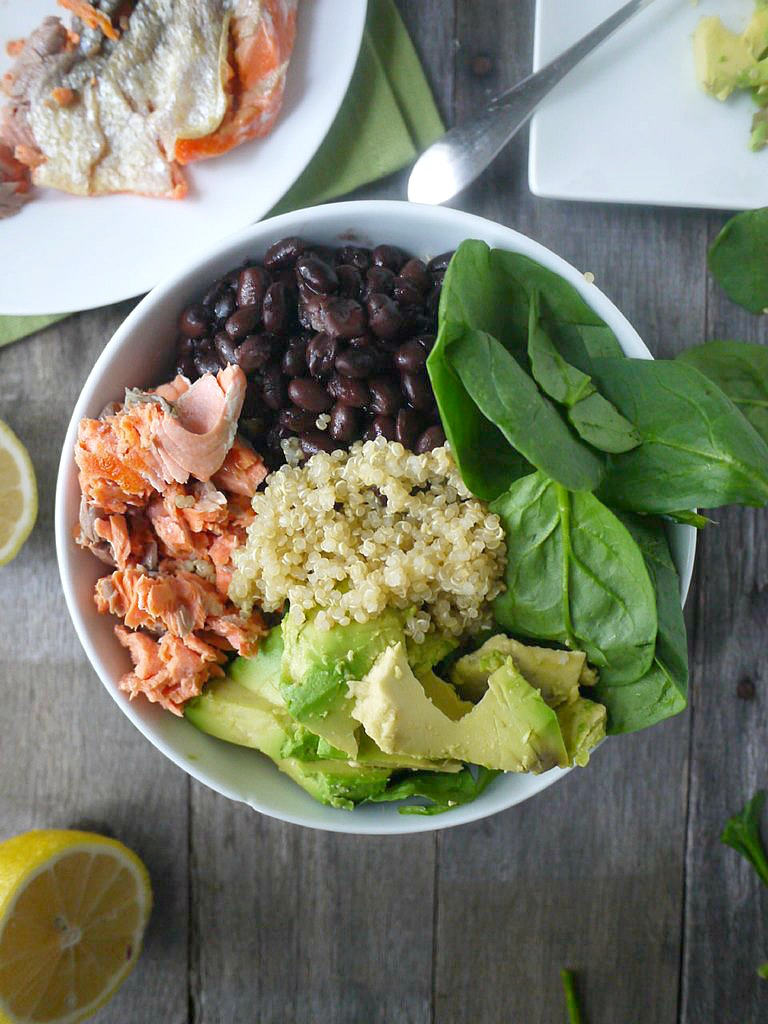 The ultimate pregnancy lunch salmon spinach quinoa salad salmon quinoa salad 9 adjusted forumfinder
