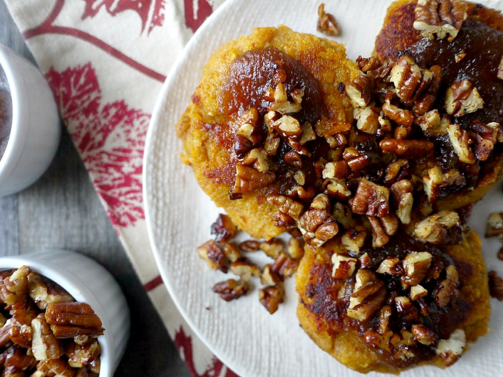 sweet potato cakes with apple butter 5 adjusted