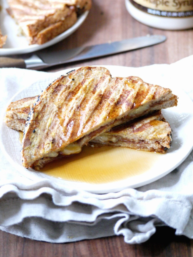 banana almond butter french toast 5