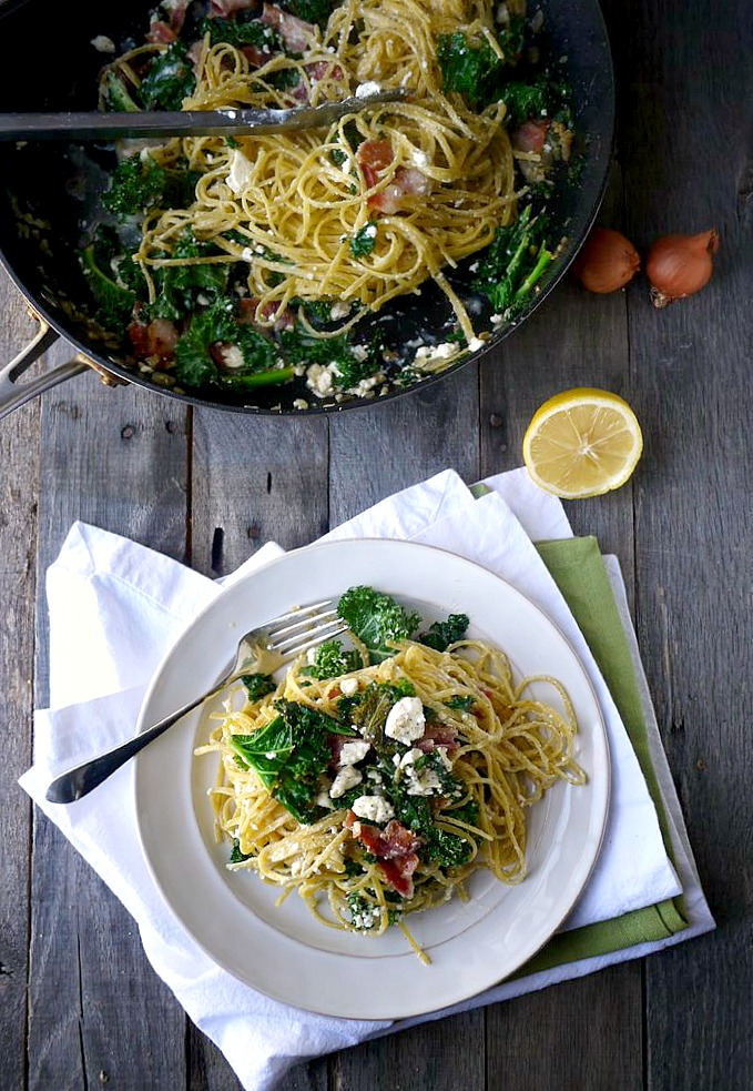 kale bacon and feta quinoa pasta 9 adjusted