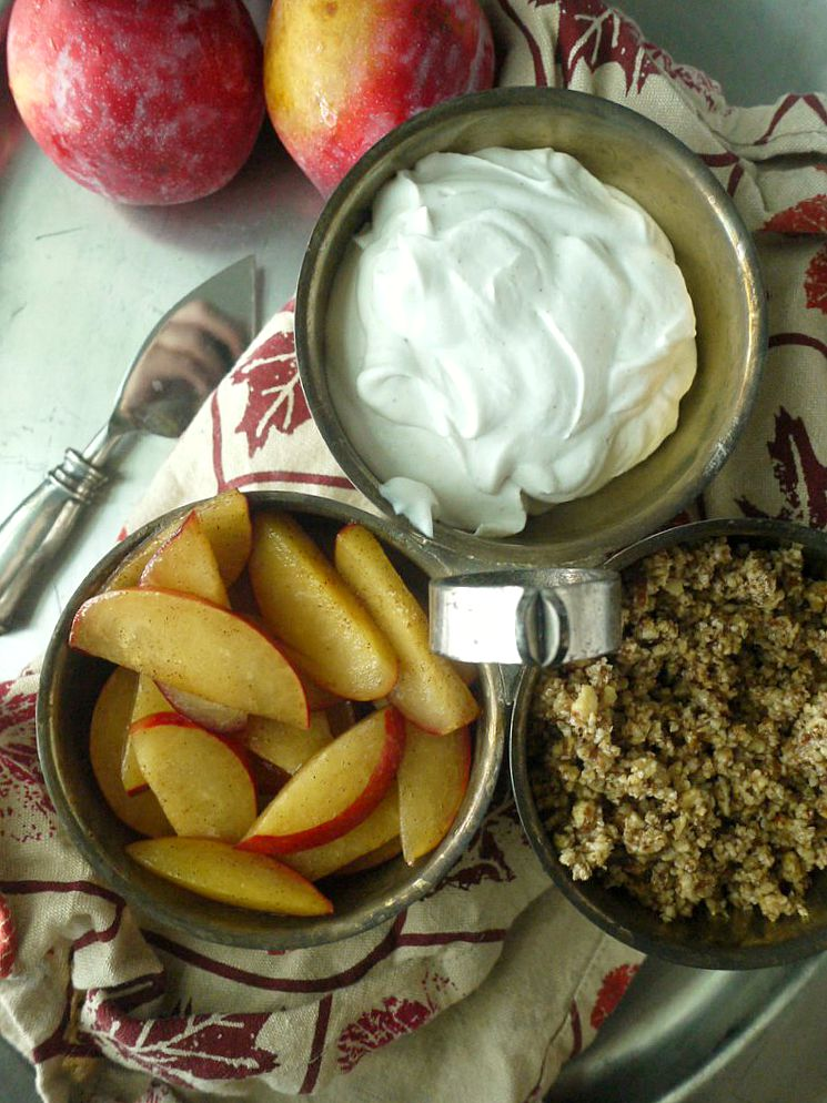 paleo plum crumble with maple ginger coconut cream 3 adjusted