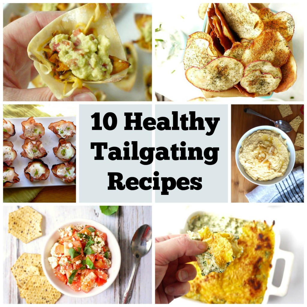10 healthy tailgating recipes