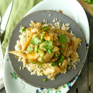 Spicy Almond Butter Chicken Curry