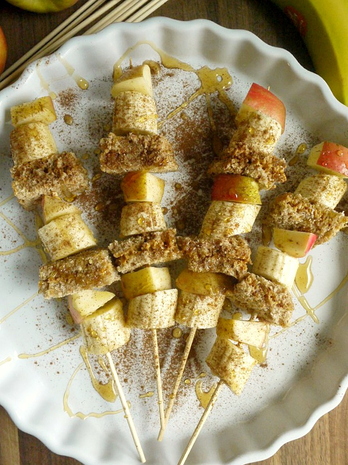 Apple-Banana Peanut Butter Sandwiches 3