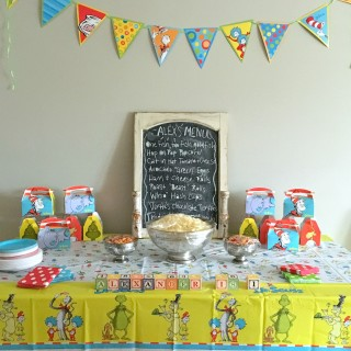 How to Throw a Dr Seuss-Themed Birthday Party